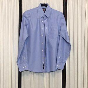 Victorinox Mens size M blue button up shirt M